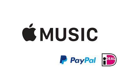 Apple music zonder creditcard