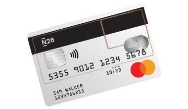 N26 creditcard