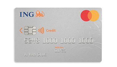 Prepaid creditcard ING