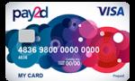 pay2d Prepaid creditcard