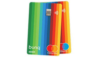 prepaid creditcard Bunq